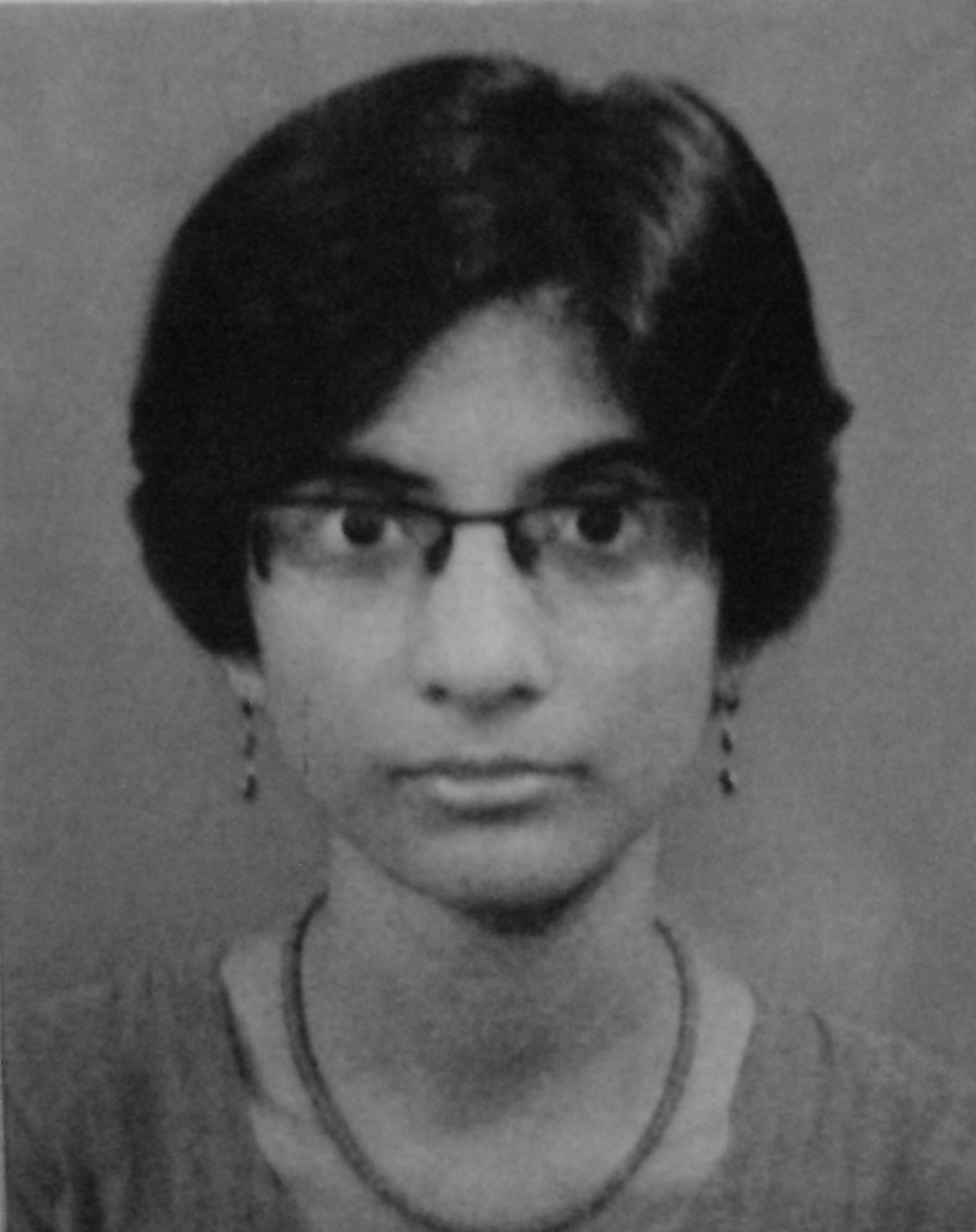 Saumyashree Ghosh (M.A.-level fellow)